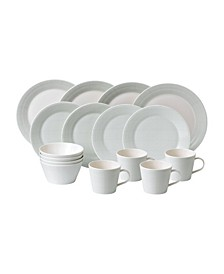 Pacific Mint 16 Piece Dining Set