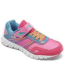 Little Girls Crater 19 Stay-Put Closure Running Sneakers from Finish Line