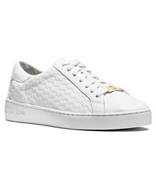 Michael Michael Kors Colby Embossed Signature Logo Sneakers