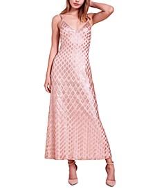 Diamond Sequin Gown