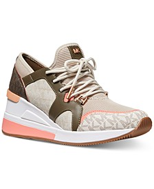 Liv Trainer Signature Logo Sneakers