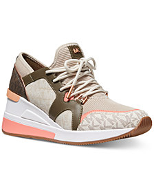 MICHAEL Michael Kors Liv Trainer Signature Logo Sneakers