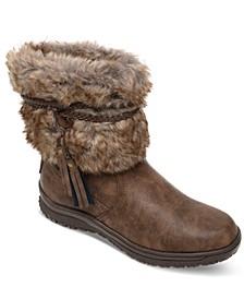 Women's Everett Faux-Fur Booties