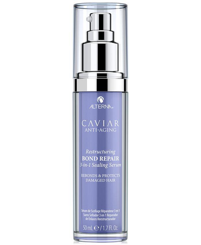 Alterna - Caviar Anti-Aging Restructuring Bond Repair 3-In-1 Sealing Serum, 1.7-oz.