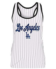 Women's Los Angeles Dodgers Pinstripe Tank