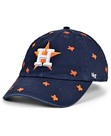 Houston Astros Women's Confetti Adjustable Cap