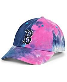 Women's Boston Red Sox Tie Dye Adjustable Cap