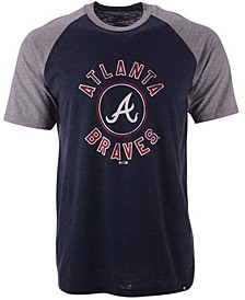 Atlanta Braves Men's Tri-Blend Raglan T-Shirt