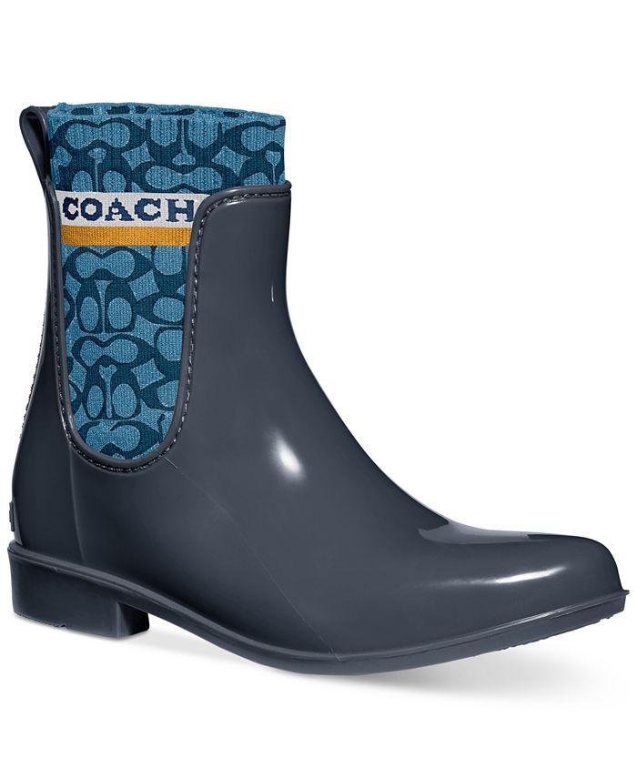 COACH - Women's Rivington Rain Boots