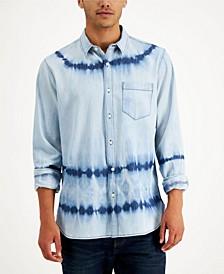 Men's Denim Dye Shirt, Created for Macy's