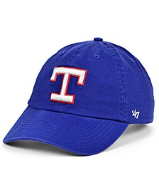 Texas Rangers Cooperstown Clean Up Cap