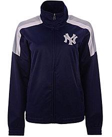 G-III Sports Women's New York Yankees Track Star Track Jacket