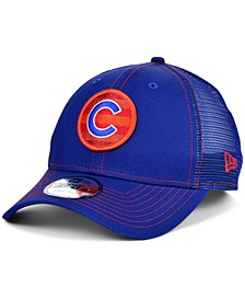 Chicago Cubs Logo Fill Trucker 9FORTY Cap