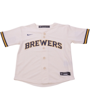 Nike Milwaukee Brewers Toddler Official Blank Jersey