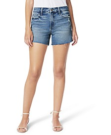 Clematis Ozzie Frayed-Hem Shorts