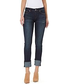 Wide-Cuffed Jeans