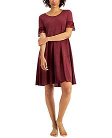 Lace-Trim Sleep Shirt, Created for Macy's