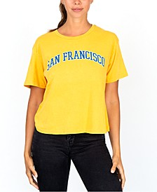 Juniors' San Francisco Graphic T-Shirt