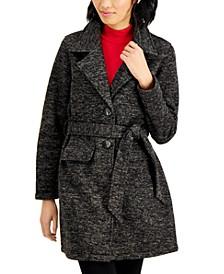 Juniors' Belted Walker Coat