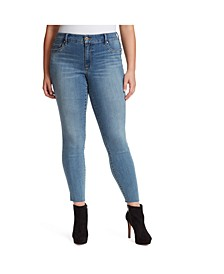 Trendy Plus Size Kiss Me Super Skinny Jeans