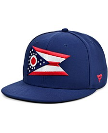 Authentic NHL Headwear Columbus Blue Jackets Hometown Fitted Cap