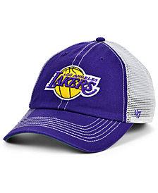 '47 Brand Los Angeles Lakers Trawler Mesh Clean Up Cap