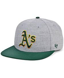 Oakland Athletics Dimensions Snapback Cap
