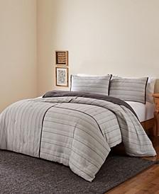 Riad 24 King 3 Piece Comforter Set