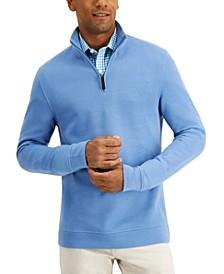 Men's Quarter-Zip Sweatshirt, Created for Macy's