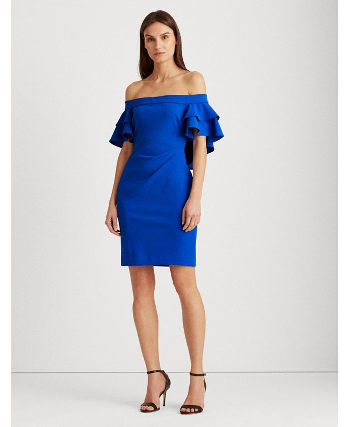 Lauren Ralph Lauren - Tiered Overlay Dress
