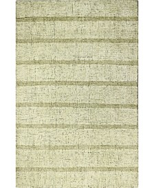 "Stripe ST1 Gold 5'6"" x 8'6"" Area Rug"