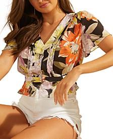 Maritza Flutter Sleeve Top