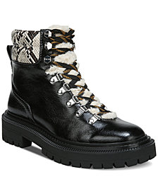 Circus by Sam Edelman Women's Flora Cold Weather Lug Sole Hiker Booties