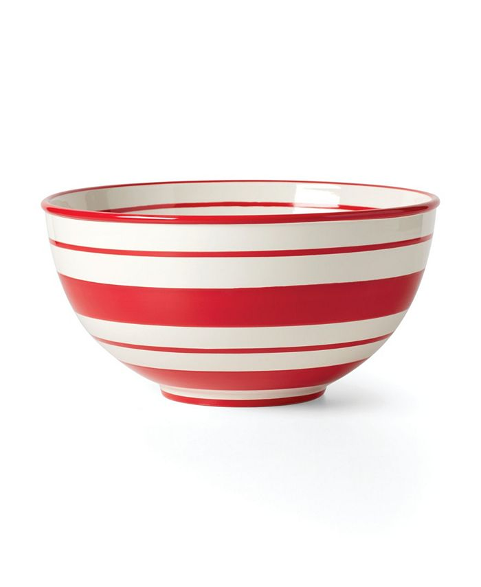Lenox - Holiday Handpaint Stripe Mixing Bowl