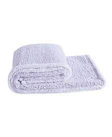 Bottom Dye Sherpa Throw, One Size Fits All
