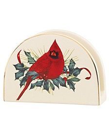 CLOSEOUT! Winter Greetings Napkin Holder