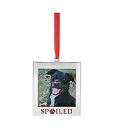 2020 Spoiled Pet Frame Ornament