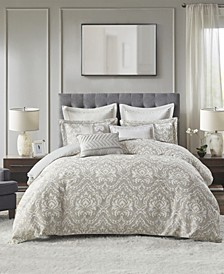 Manor 8 Piece Queen Comforter Set
