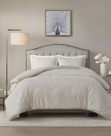 Florence 3 Piece King/California King Duvet Cover Set