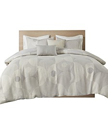 Otto 5 Piece Full/Queen Duvet Cover Set