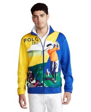 Polo Ralph Lauren Men's Golf-Print Track Jacket