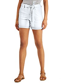 Petite Utility Shorts, Created for Macy's