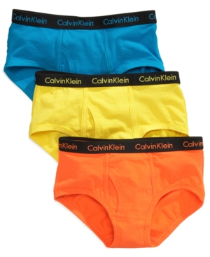 Calvin Klein 3-Pk. Briefs,...