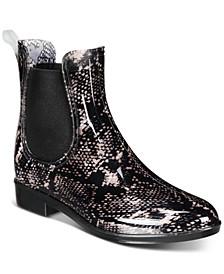 INC Women's Raelynn Rain Boots, Created for Macy's