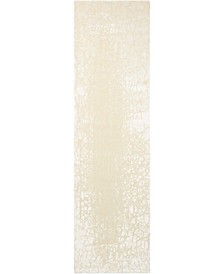 "Luminance LUM12 Cream 2'3"" x 8' Runner Rug"