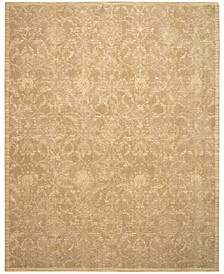 "Silk Elements SKE03 Sand 7'9"" x 9'9"" Area Rug"