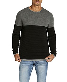 Warib Striped Ripple Men's Sweater