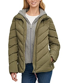Hoodie Puffer Coat, Created for Macy's