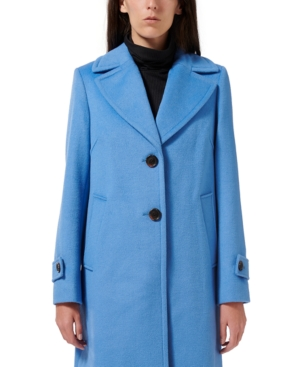 Sam Edelman SINGLE-BREASTED REEFER COAT, CREATED FOR MACY'S