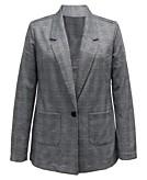 Style & Co Petite Plaid Blazer Created For Macys